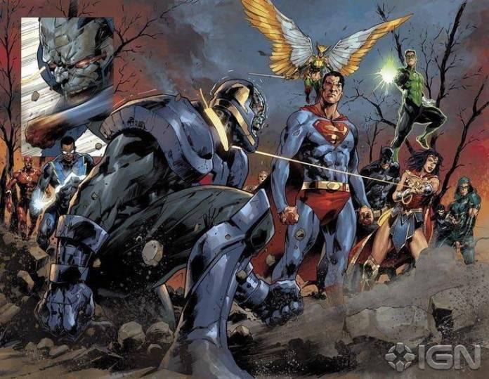 Darkseid sucumbe al virus