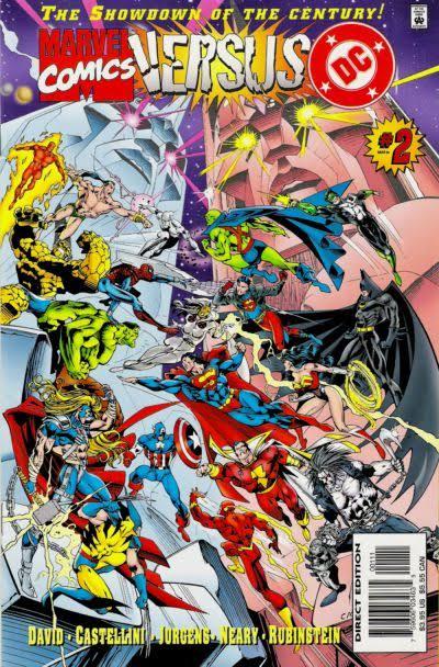 Marvel vs. DC #2 (1996)