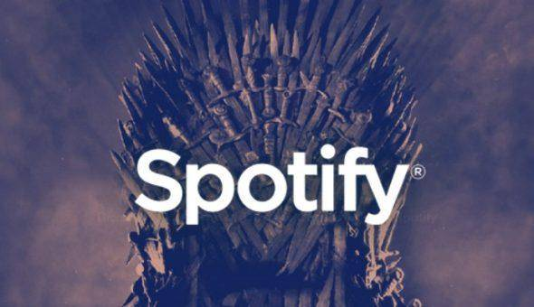 Spotify lanza playlists de 'Game of Thrones' 1