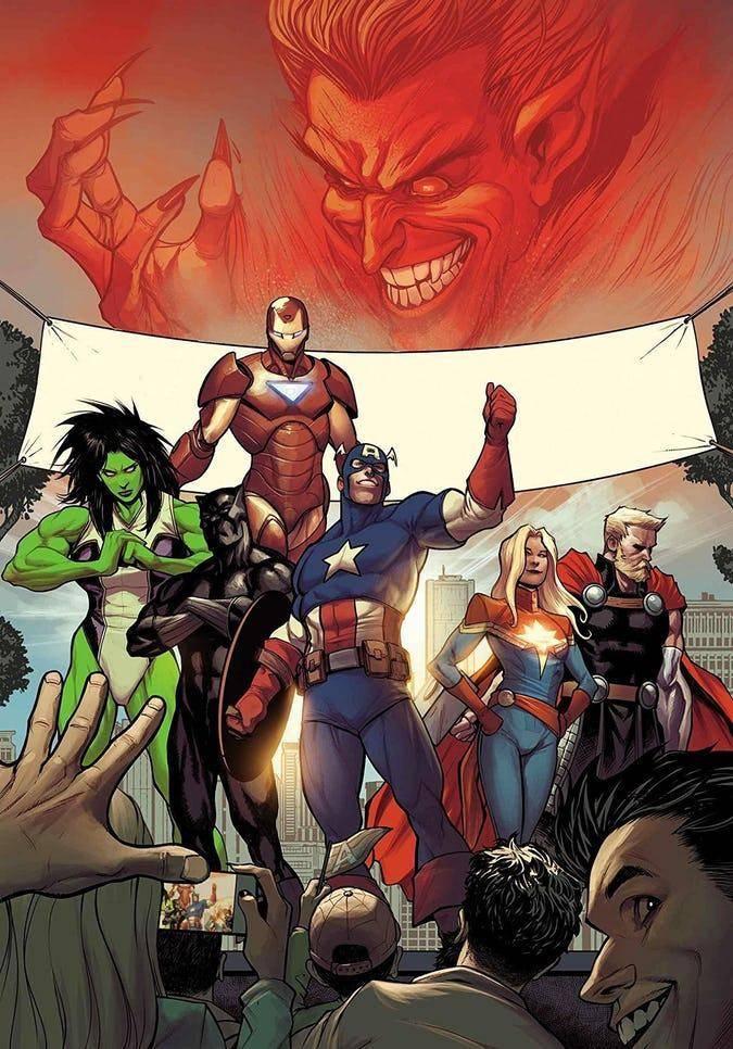 Avengers #21 (2019)