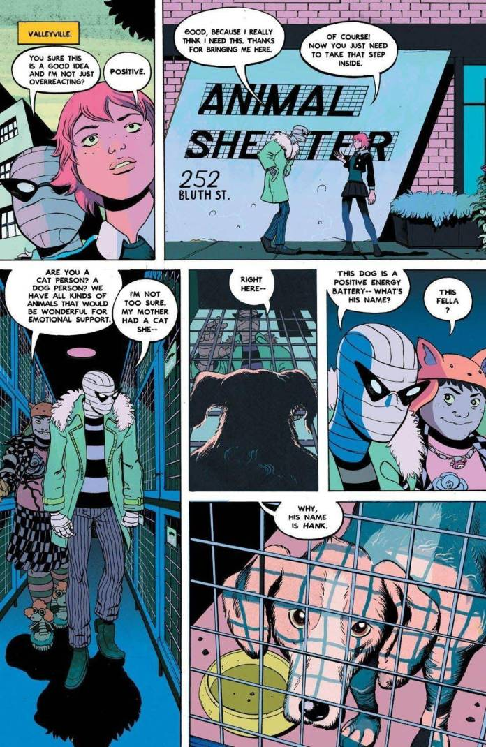 Doom Patrol: Weight of the Worlds # 1 Preview