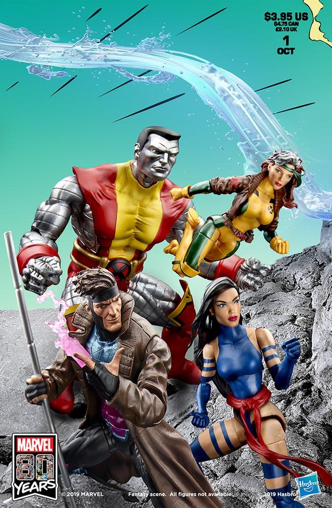 #SDCC2019 Hasbro recrea la portada X-Men # 1 de Jim Lee 4
