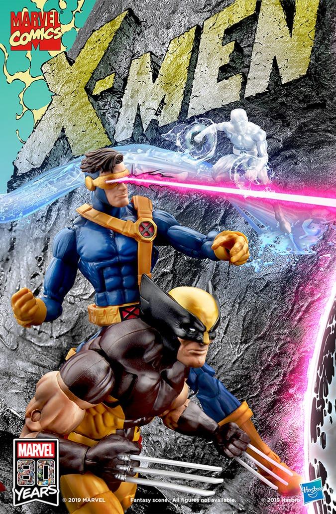 #SDCC2019 Hasbro recrea la portada X-Men # 1 de Jim Lee 5