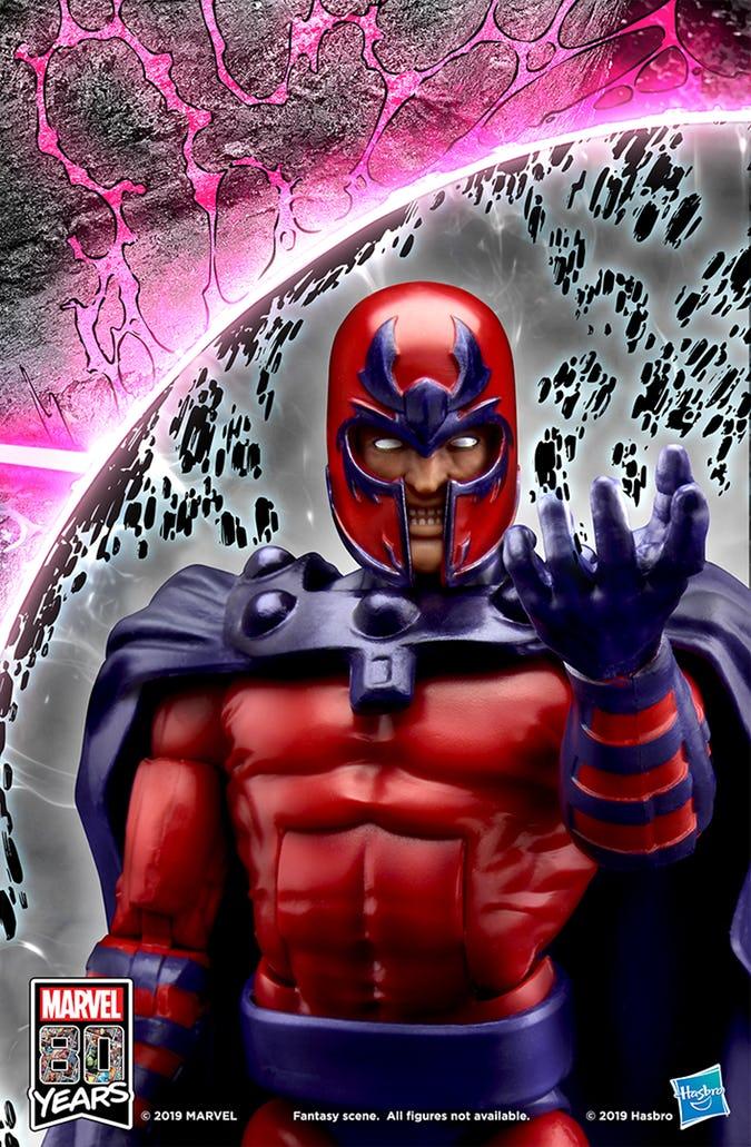 #SDCC2019 Hasbro recrea la portada X-Men # 1 de Jim Lee 6