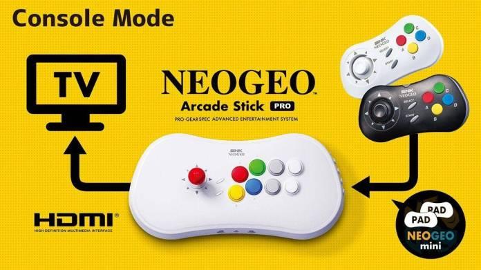 NEO GEO Arcade Stick Pro tendrá 20 juegos de SNK preinstalados 4