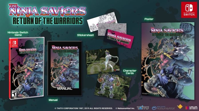 The Ninja Saviors Return of the Warriors ya tiene fecha de salida en América 3