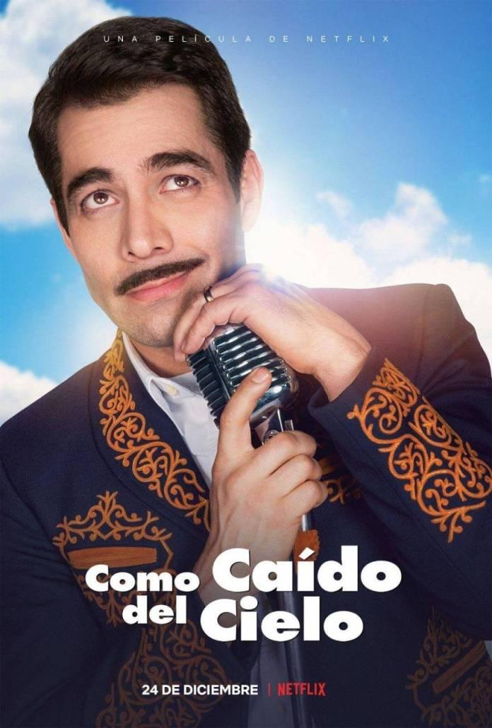 Omar Chaparro, Pedro Infante, Caido del cielo