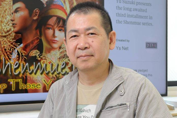 Yu Suzuki Golden Joystick