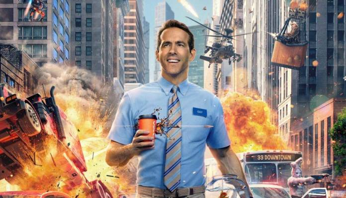 Free Guy, Ryan Reynolds