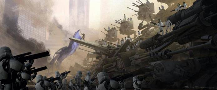 Star Wars: Colin Trevorrow confirma el arte filtrado de 'Duel of Fates' 15