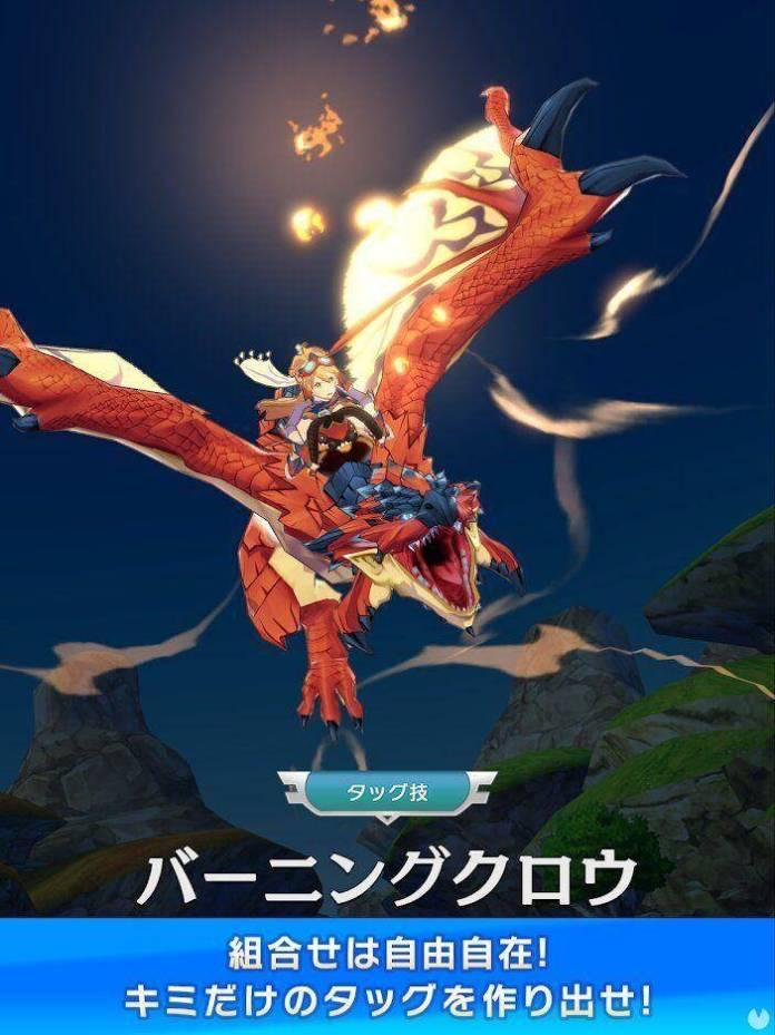 Se anuncia Monster Hunter Riders para móviles 3