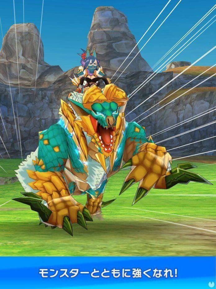 Se anuncia Monster Hunter Riders para móviles 2