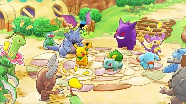 Pokémon Mistery Dungeon: Rescue Team DX anunciado para Nintendo Switch 1