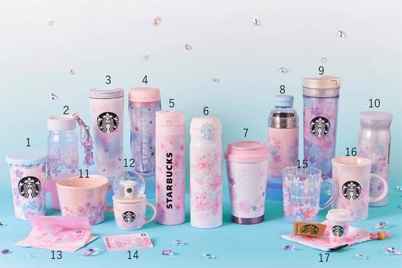 #SailorGeek: La primavera llega a Starbucks con esta hermosa colección ? 1