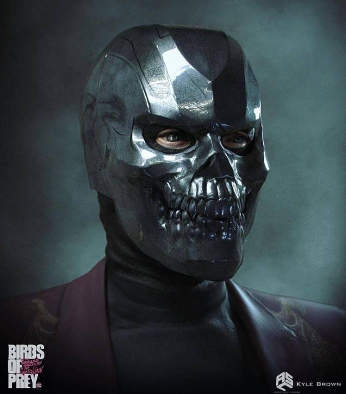 Este era el look original de Black Mask en Harley Quinn: Bird of Prey 1