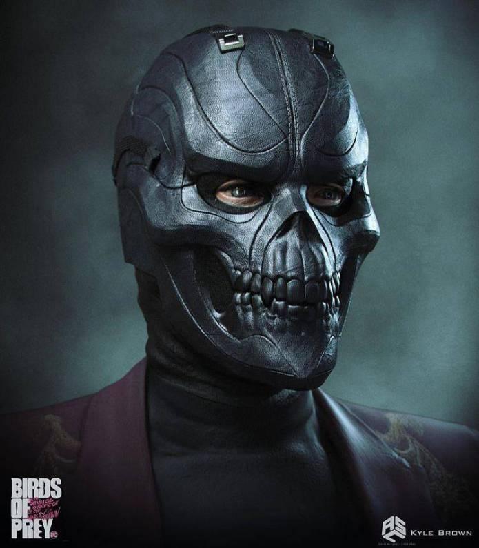 Este era el look original de Black Mask en Harley Quinn: Bird of Prey 2