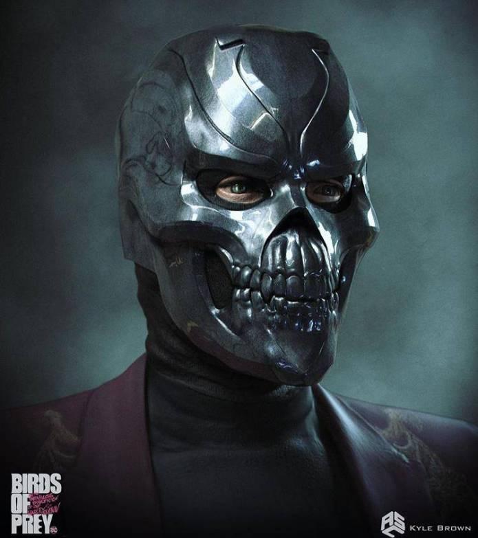 Este era el look original de Black Mask en Harley Quinn: Bird of Prey 4