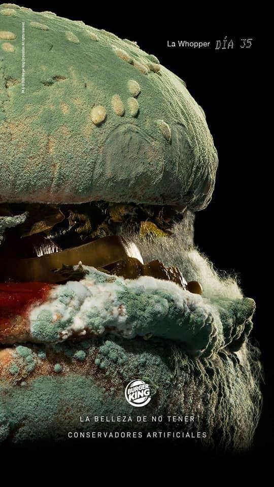 Hamburguesa podrida: La nueva publicidad de Burger King 4