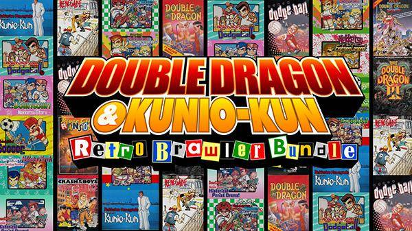 DOUBLE DRAGON series  DOUBLE DRAGON (1987) DOUBLE DRAGON II: The Revenge (1988) DOUBLE DRAGON III: The Sacred Stones (1990)  Kunio-kun series  Renegade (1986) Super Dodge Ball (1988) River City Ransom (1989) Crash'n the Boys Street Challenge (1992)  Kunio-kun series (Published only in Japan, first time localized in NA) Nekketsu Renegade Kunio-kun Nekketsu High School Dodgeball Club Downtown Nekketsu Story Nekketsu High School Dodgeball Club - Soccer Story Downtown Nekketsu March Super-Awesome Field Day! Downtown Special Kunio-kun's Historical Period Drama! Go-Go! Nekketsu Hockey Club Slip-and-Slide Madness Surprise! Nekketsu New Records! The Distant Gold Medal Nekketsu Fighting Legend Kunio-kun's Nekketsu Soccer League Nekketsu! Street Basketball All-Out Dunk Heroes