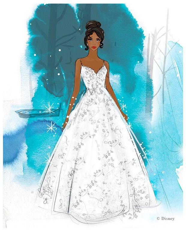 Disney lanzará línea de vestidos para novia inspirados en sus princesas 3