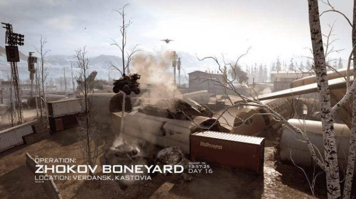 call of duty modern warfare zhokov boneyard