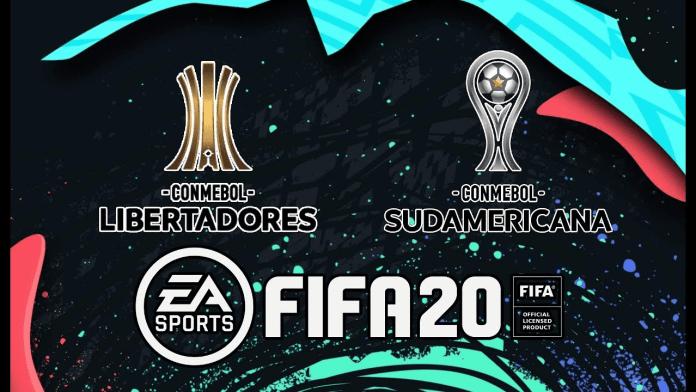 Copa Sudamericana y Copa Libertadores FIFA 20