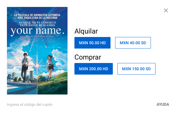 Youtube Movies Alquilar
