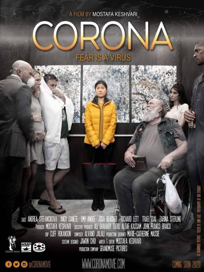 'Corona' es la primera cinta basada en el COVID-19 1