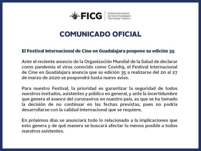 FICG 35 (Comunicado)