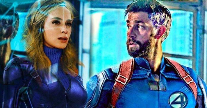 Emily Blunt & John Krasinski (Fantastic Four)
