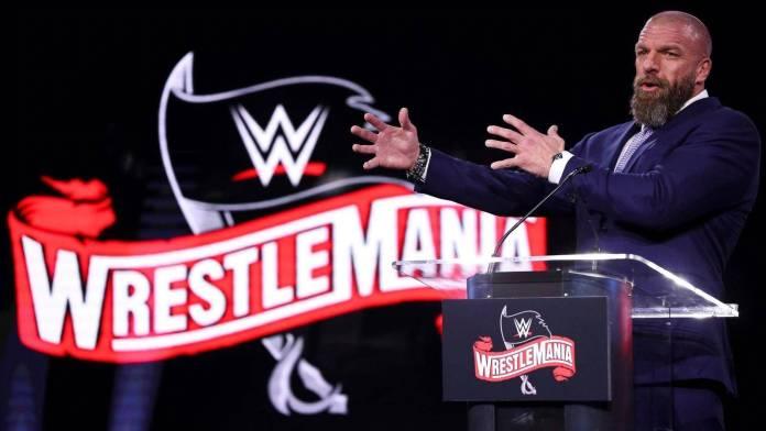 WWE Wrestlemania 36 (Coronavirus)