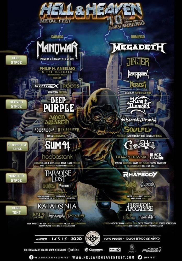 Rumor: Hell and Heaven Metal Fest 2020 con nuevas riendas 1