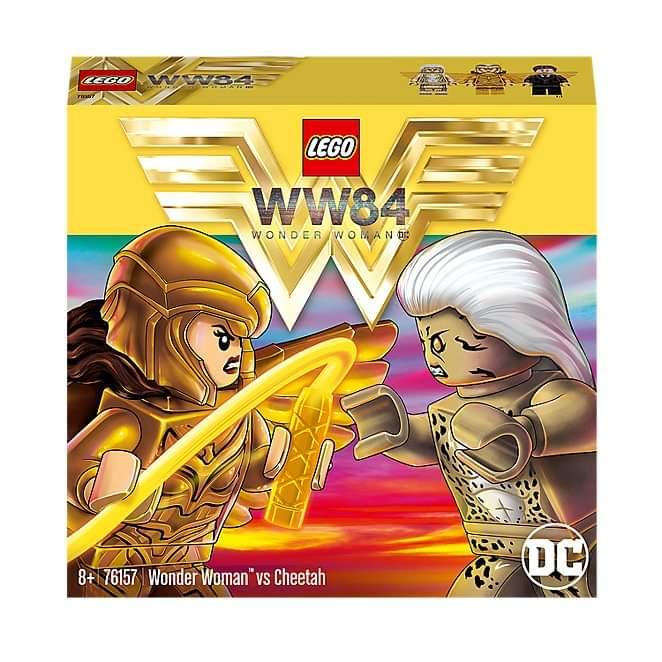 El set LEGO de 'Wonder Woman 84' filtra el look final de Cheetah 1