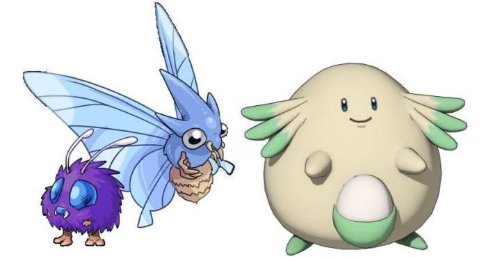 Pokémon Kanto (Chansey y Venonat)