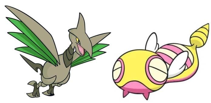 Pokémon Johto (Skarmory + Dunsparce)