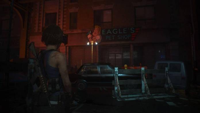 Resident evil 3 eagle pet shop