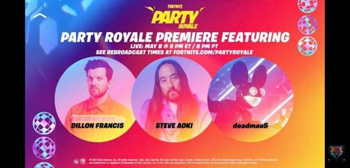 Nuevos eventos en Fortnite 1
