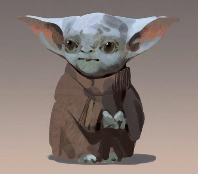 Estos eran los primeros diseños de Baby Yoda 1
