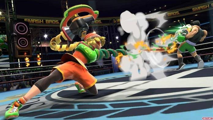 ARMS listo para unirse a Super Smash Bros. Ultimate 2