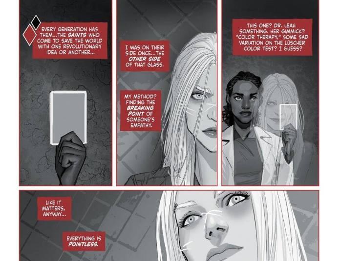 "DC Comics presenta ""Harley Quinn: Black + White + Red"" 2"