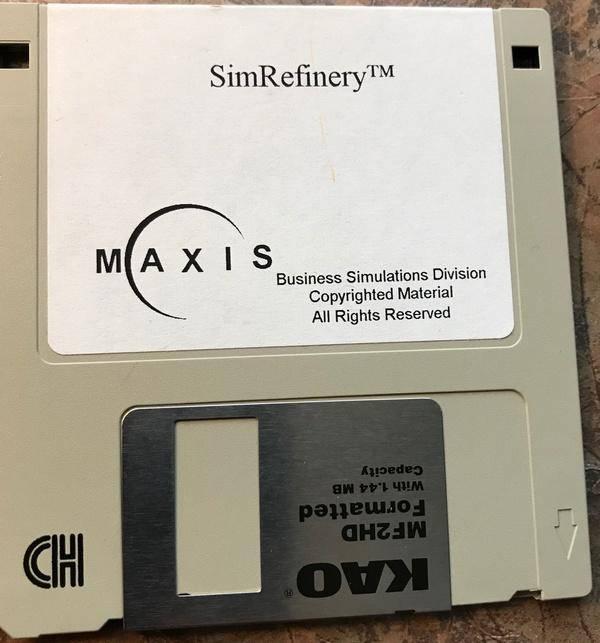 """SimRefinery, el juego """"perdido"""" de Maxis 1"""