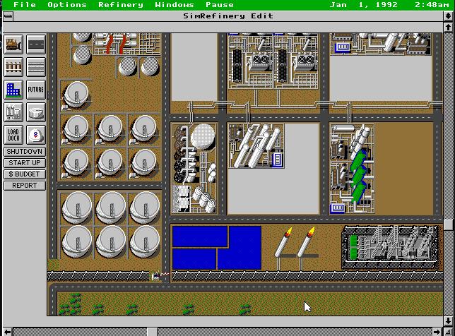 """SimRefinery, el juego """"perdido"""" de Maxis 10"""