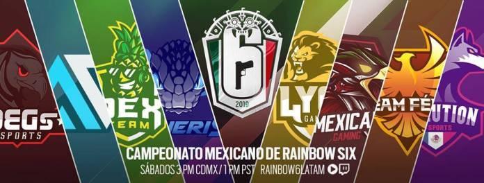 campeonato mexicano rainbows six siege