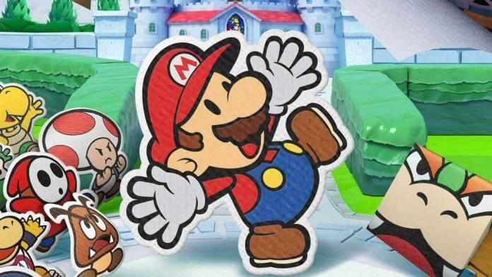 Paper Mario: The Origami King obtiene el segundo puesto en la venta semanal.