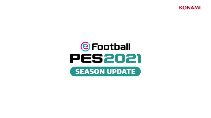 eFootball PES 2021 Season Update llegará en Septiembre 1