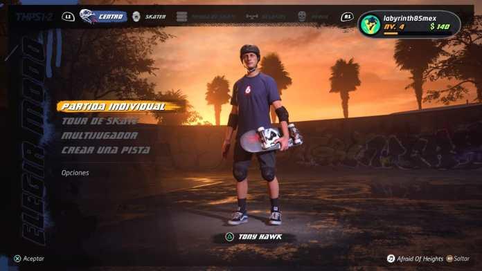 Tony Hawk Pro Skater 1+2, justo en la nostalgia 1