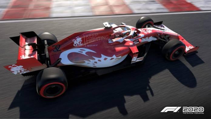 F1 2020 apoya a la 'Keep Fighting Foundation' en honor a Michael Schumacher 4