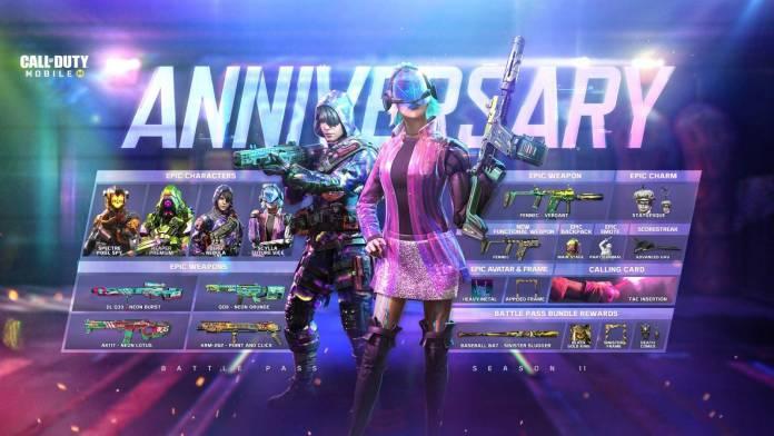 Call of Duty: Mobile Anniversary ya está disponible 1