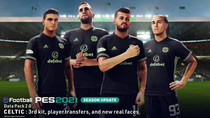 eFootball PES 2021 Season Update ha recibido su paquete de datos 2.0 22