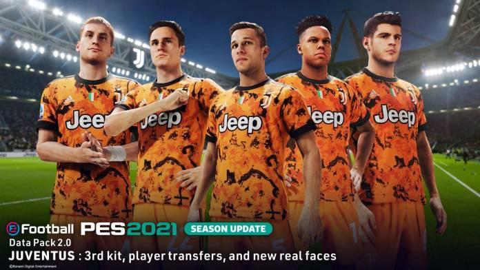 eFootball PES 2021 Season Update ha recibido su paquete de datos 2.0 23